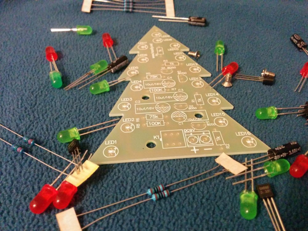 holiday science project for advent calendars