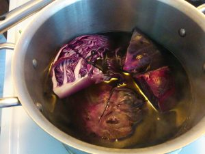 how to make a natrual pH indicator with cabbage or beetroot