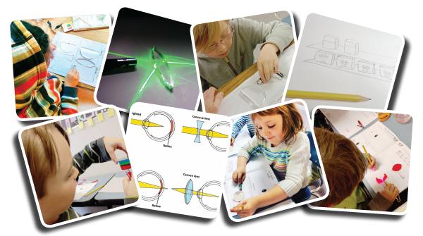 Edible kids Optics collage