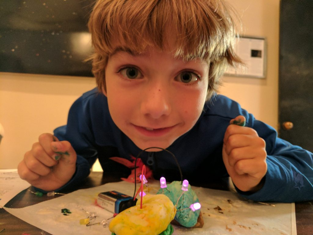 Squishy Circuits Make Conductive Playdough For An Electric Afternoon Home Science Activity Light Up Your Play Doh Learning With Playdoh