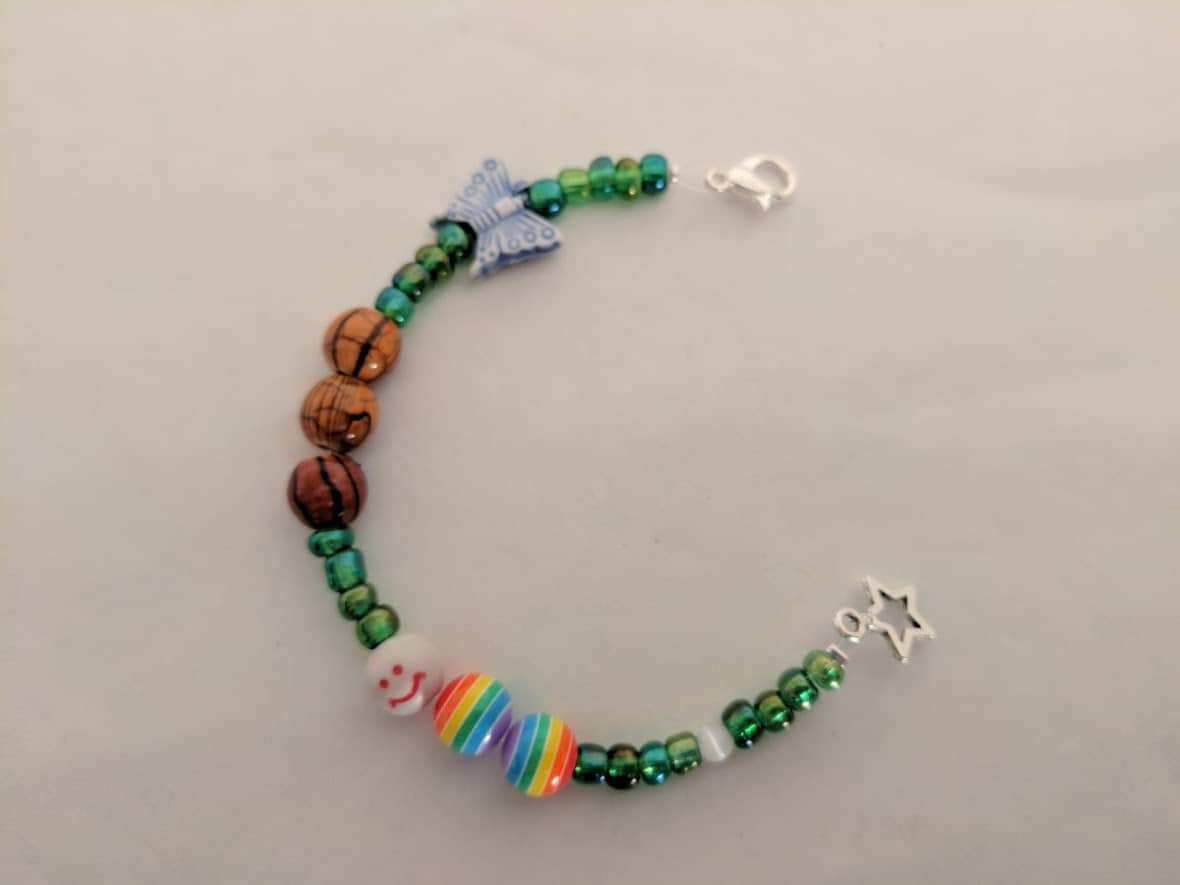 butterfly life cycle bracelet kit