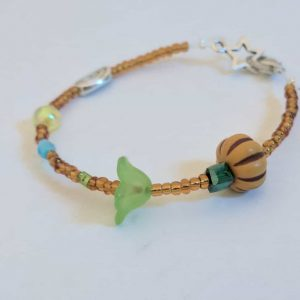 beaded plant cycle bracelet kit