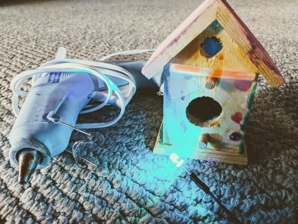 Brighten your fairy garden houses and learn circuits with simple LED lights