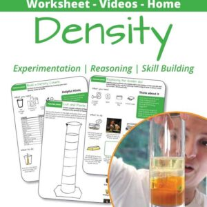 green density and density columns worksheets cover sheet