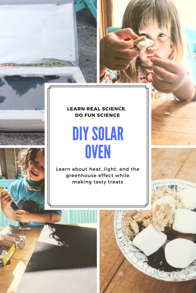 How to make a solar oven to make food for kids
