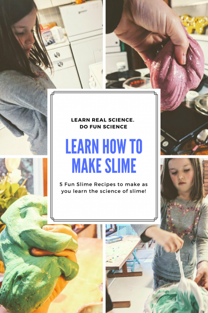 How to make slime collage