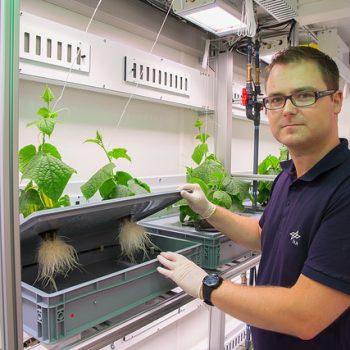 EDEN:ISS is working on growing edible fresh astronaut food in antarctica.