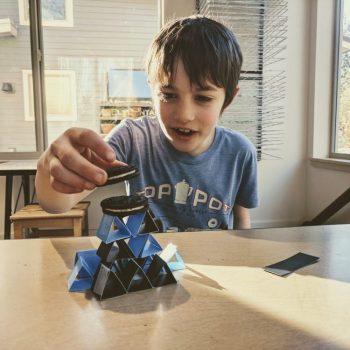 afterschool science classes on bainbridge island - engineering challenges with paper