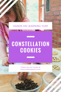 edible constellations cookies kids activity