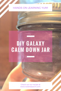 how to make a rheoscopic fluid diy galaxy bottle