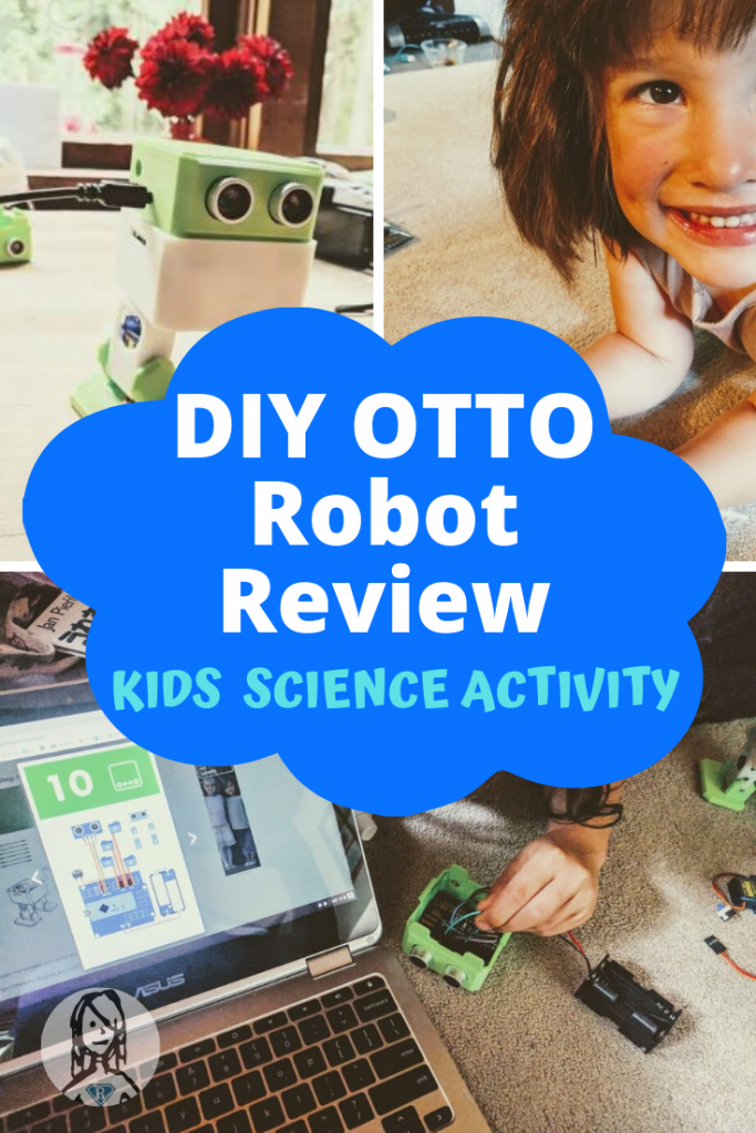 kids make a diy otto robot for review
