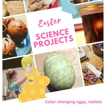 easter crafts for kids using easter science