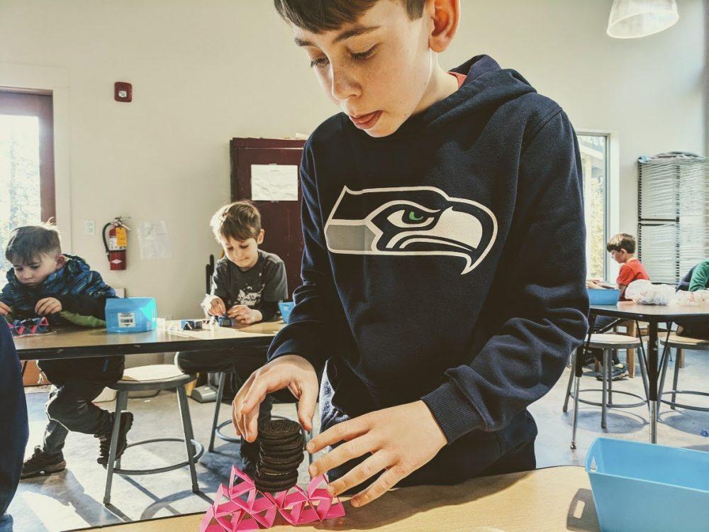 engineering challenges afterschool science programs on bainbridge island