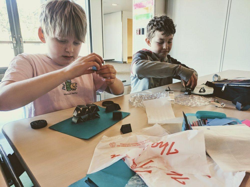 engineering challenges with elementary students on bainbridge island