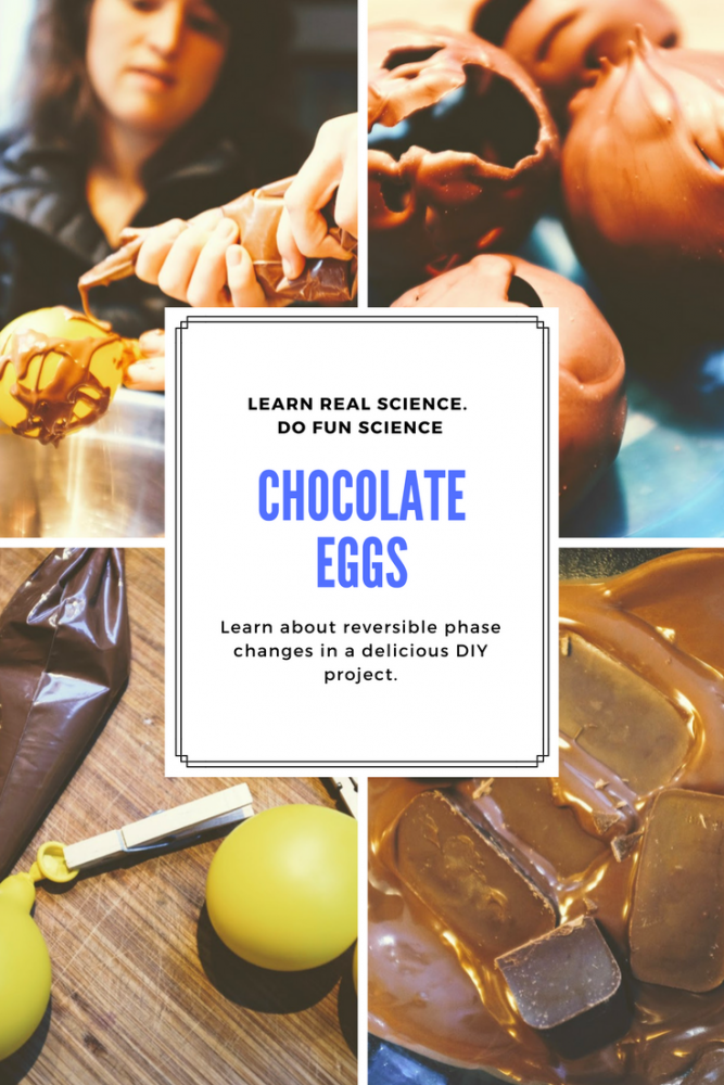 hollow chocolate egg recipe DIY