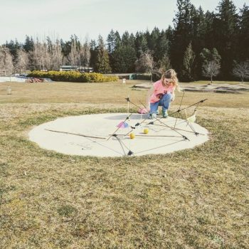 how to make a giant catapult with kids