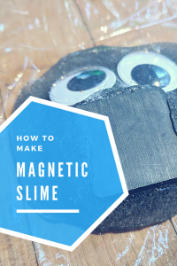 how to make magnetic slime monsters