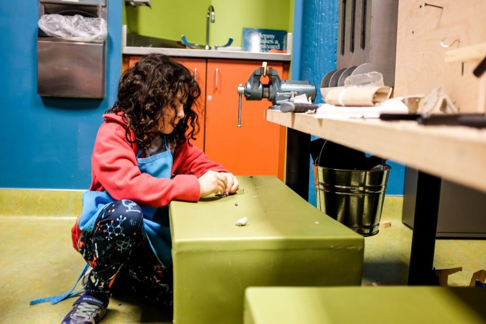 makerspace at the childrens museum of tacoma