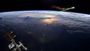space junk and lasers