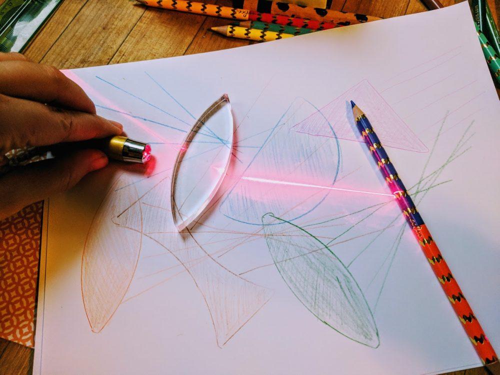 optical jellyfish ray tracing