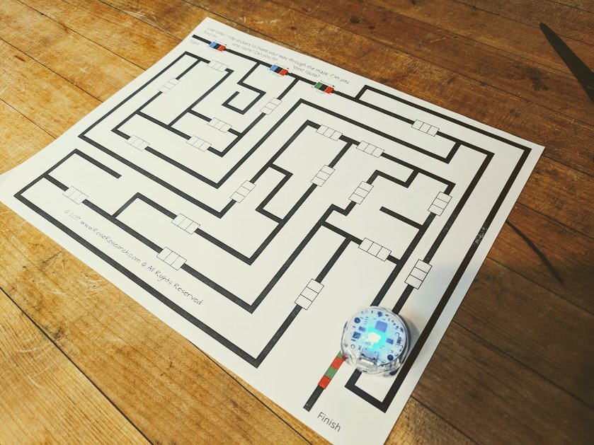 picture about Ozobot Printable identify Programming for inexperienced persons: Navigating an Ozobot Maze