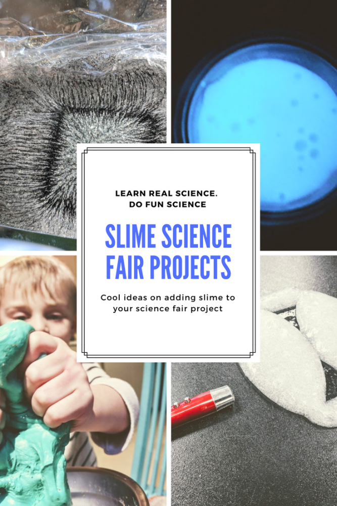 slime science fair project questions and ideas to make a cool science fair experiment
