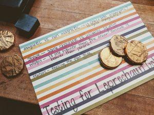testing leprechaun gold science project ideas