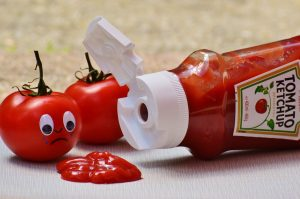 non-newtonian fluids include ketchup