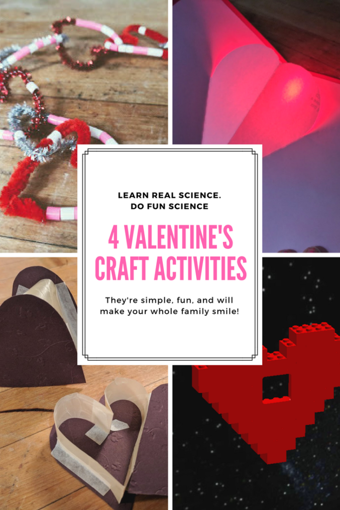 valentine's day crafts and science activities